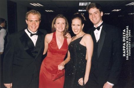 Steve, Lindsay, me & John B.